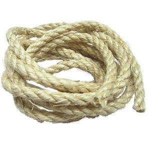 "100% Natural  Sisal Rope 3/8"" | Zoo-Max"