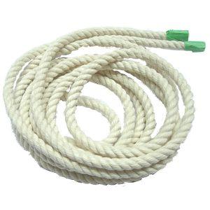 "100% White Cotton Rope 1/4"" | Zoo-Max"