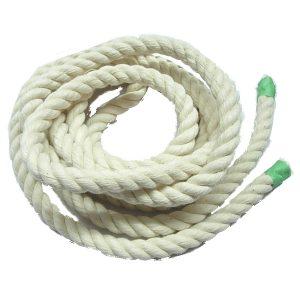 "100% White Cotton Rope 3/8"" | Zoo-Max"