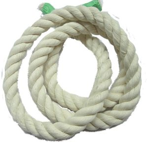"100% White Cotton Rope 3/4"" | Zoo-Max"