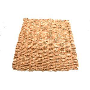 "Sea Grass mat double weve 11""X 11"" | Zoo-Max"