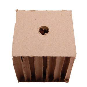 "Honey Comb cardboard 3""H x 3""W x 3""LO (H1/2)   Zoo-Max"