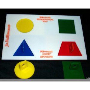 "PSITTA PUZZLE STEP #1 LG (BASE:12""X7.5"") | Zoo-Max"
