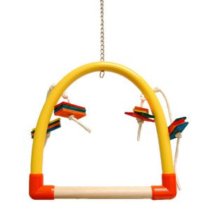 "MEDIUM PVC PERCH  (24"" X 19"") 