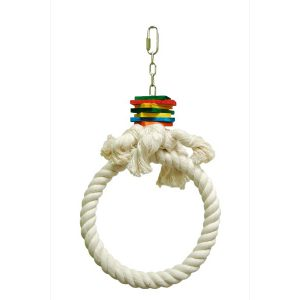 """HOOP-COTTON RING 7"""" 