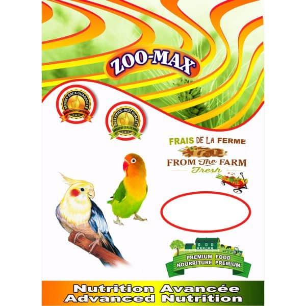Base Cockatiel   Zoo-Max