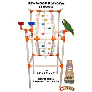 """WOOD PLAYGYM  MD (24""""x28""""x68"""") 
