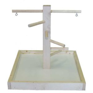 "Wood Play Stand Model #1 SM (12"" X 12"" X 12"") 