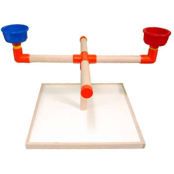 Wood Play Stand Model #3   Zoo-Max