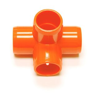 "Fitting  7/8""D (Int.1/2"")   Orange: 4 Way | Zoo-Max"