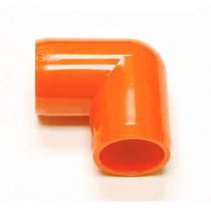 "Fitting  7/8""D (Int.1/2"")   Orange: Elbow  90 | Zoo-Max"