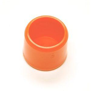 "Fitting  7/8""D (Int.1/2"")   Orange: End Cap | Zoo-Max"