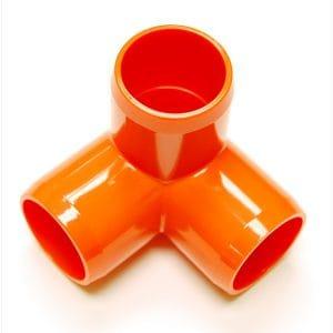 "Fitting 1 1/4""D (Int. 1"")   Orange: 3 Way | Zoo-Max"