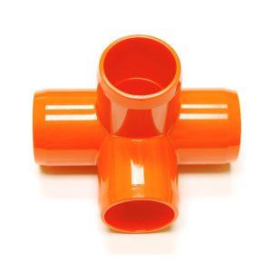 "Fitting 1 1/4""D (Int. 1"")   Orange: 4 Way | Zoo-Max"