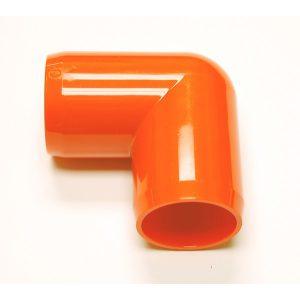 "Fitting 1 1/4""D (Int. 1"")   Orange: Elbow  90 | Zoo-Max"